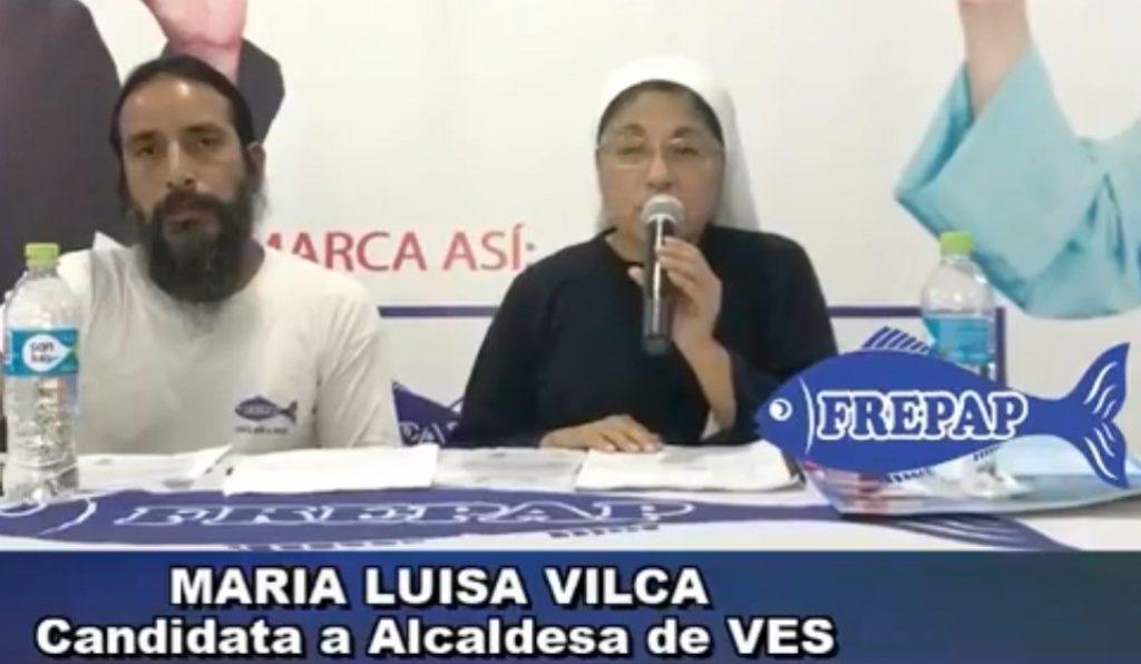 maria luisa vilca candidata alcalde frepap villa el salvador 2018